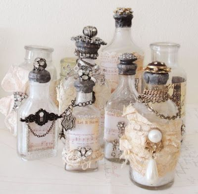 How To Decorate Old Bottles Decorate Old Bottles To Hold Beautiful Flowers For #centerpieces