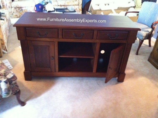 Sears Entertainment Center Assembled In Fairfax Va By