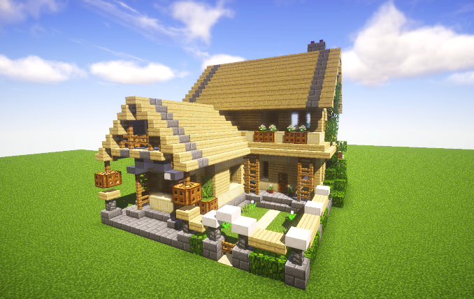 Astounding Birch Cottage Creation 11128 G A M E S Minecraft Download Free Architecture Designs Osuribritishbridgeorg