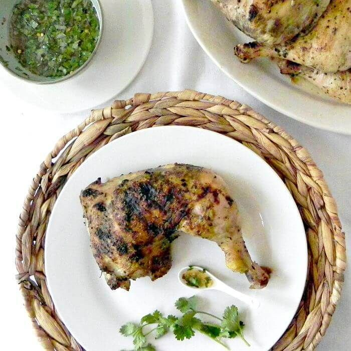 Thai Chicken with Sour-Sweet-Salty Sauce