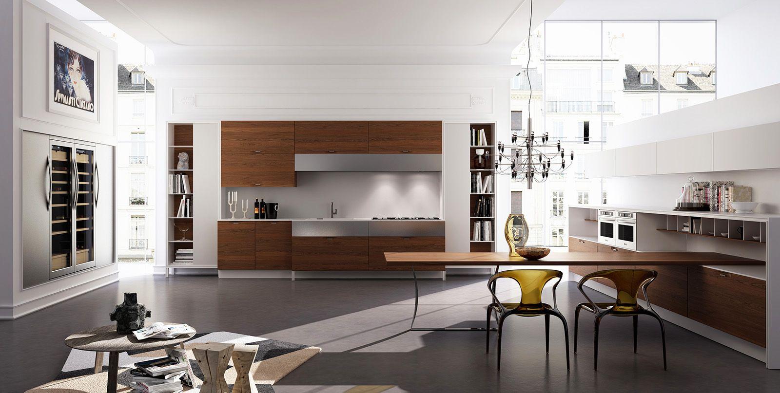 Novalinea U6 Studio _kitchen Pinterest Spaces And Kitchens # Muebles New Style Villa Tesei
