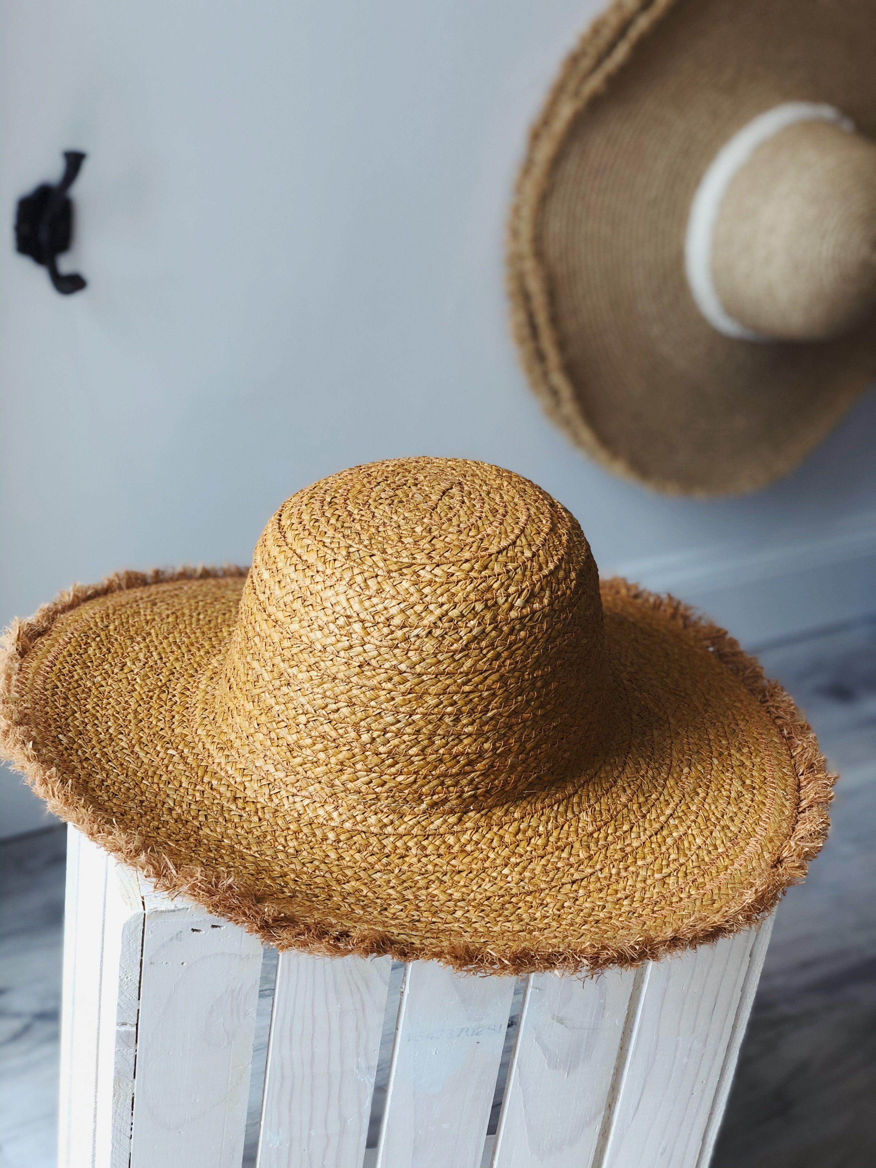 Natural Raffia Baseball Cap for Women Summer Straw Sun Hats Bridesmaid Bride Bachelorette Gift Wedding Favors