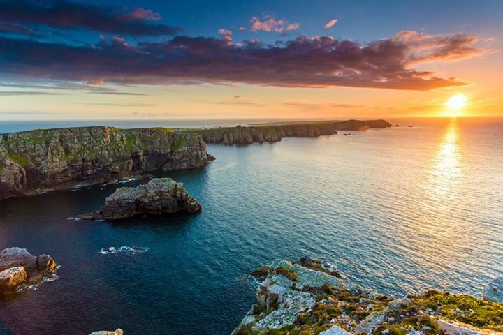 Tory Island Sunet in Co. Donegal is something else. Credit to Owen clarke photography