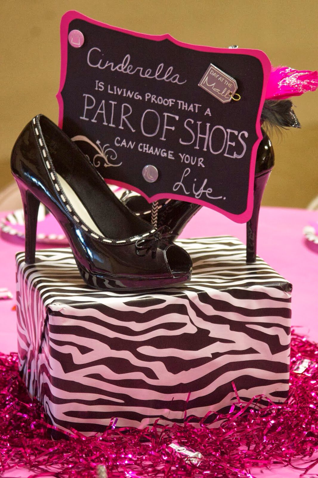 High heels and quotes 40th Birthday Parties 99f7045c1b3c