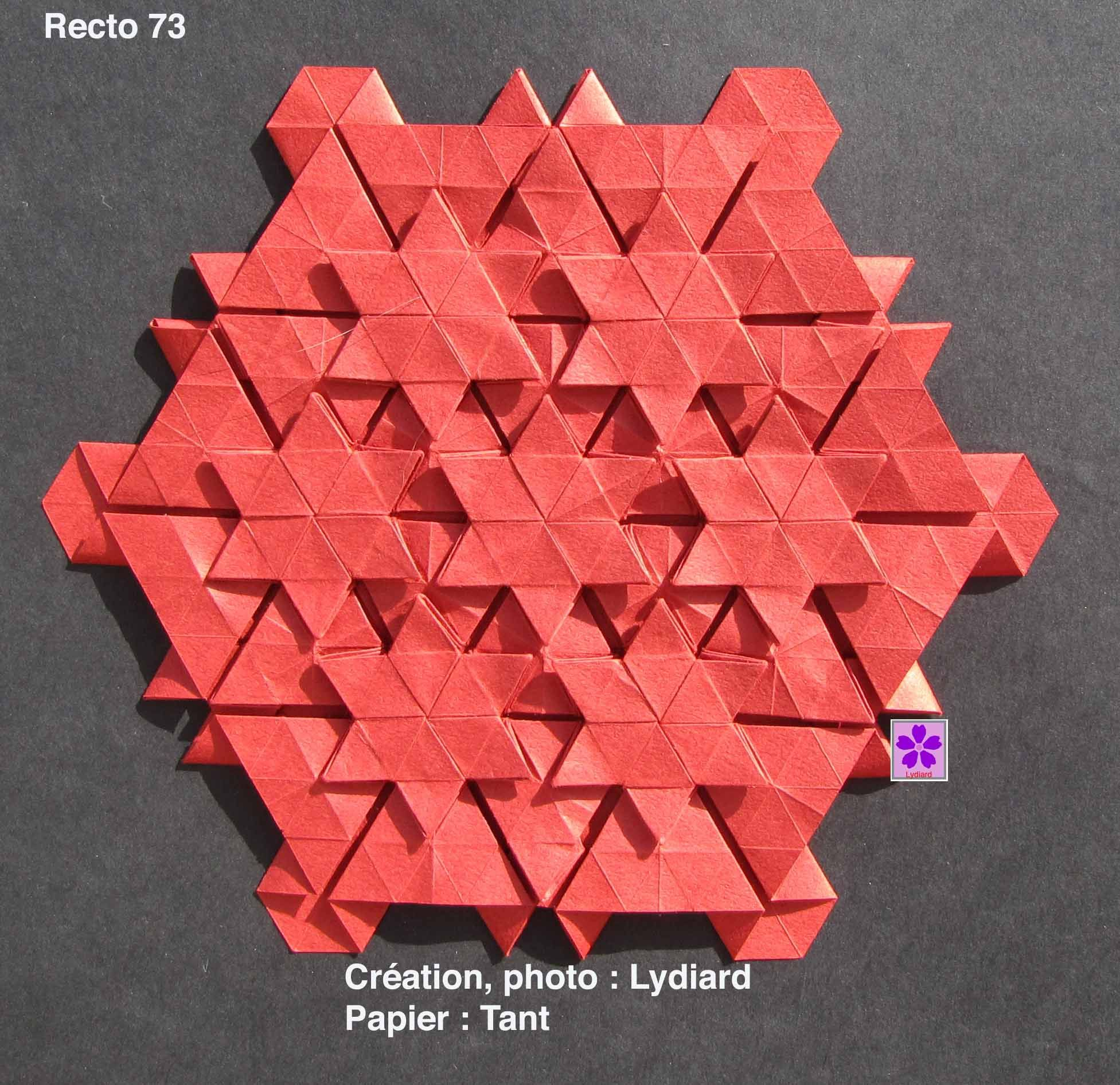 tessellation paper crafts and origami Pinterest