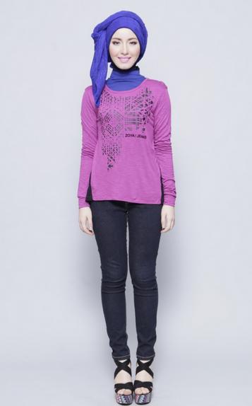 Model Baju Muslim Remaja Casual Simple Model Busana