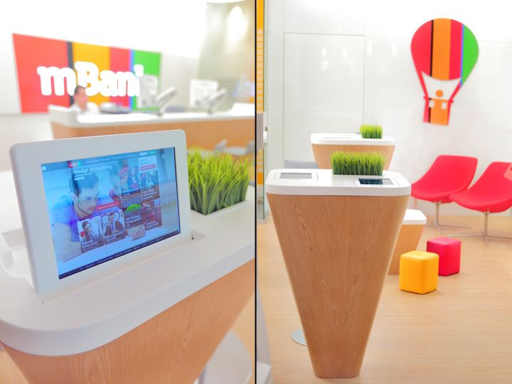 mBank Light Branch bank by ARS Retail+Shopfitting, Łódź – Poland » Retail Design Blog