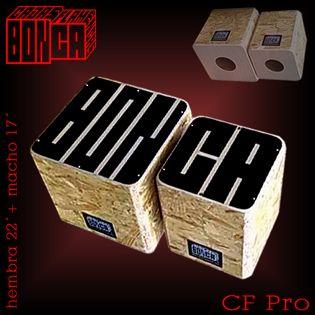 Las Cajas BONCA® son una nueva generación de instrumentos musicales de percusión, fruto de la idea de fusionar los Bongos con el Cajón y que han dado origen a las primeras Cajas Flamencas
