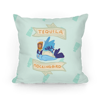 Tequila Mockingbird Pillow