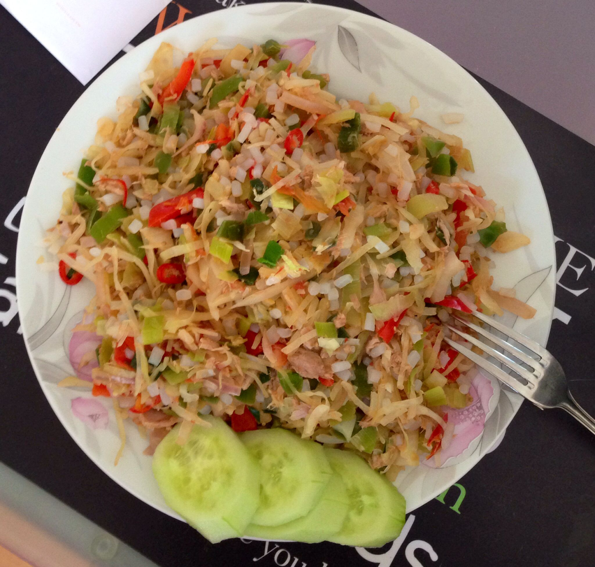 Thai rice and tuna. #glutenfree #quick #healthy