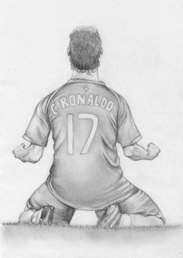 Cristiano Ronaldo By Jansen34 On DeviantArt Drawing