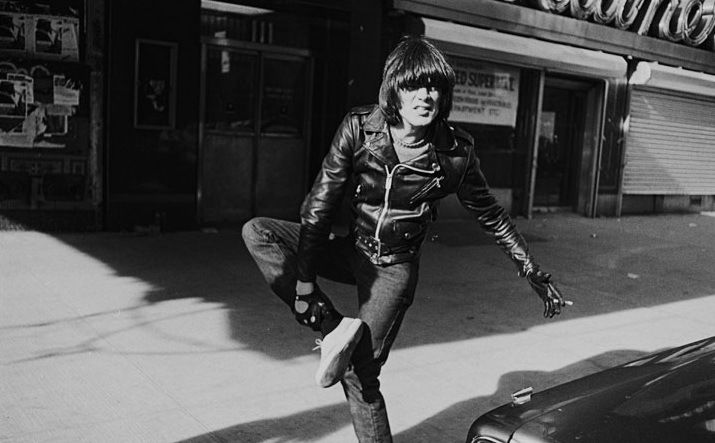 Ramones: Dee Dee Ramone, Whisky A-Go-Go, photo by Mike