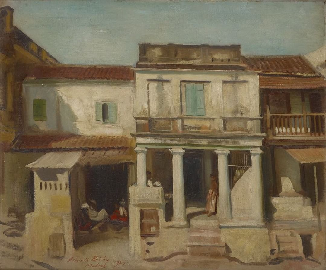 'A House in Madras' one of only three landscapes on loan