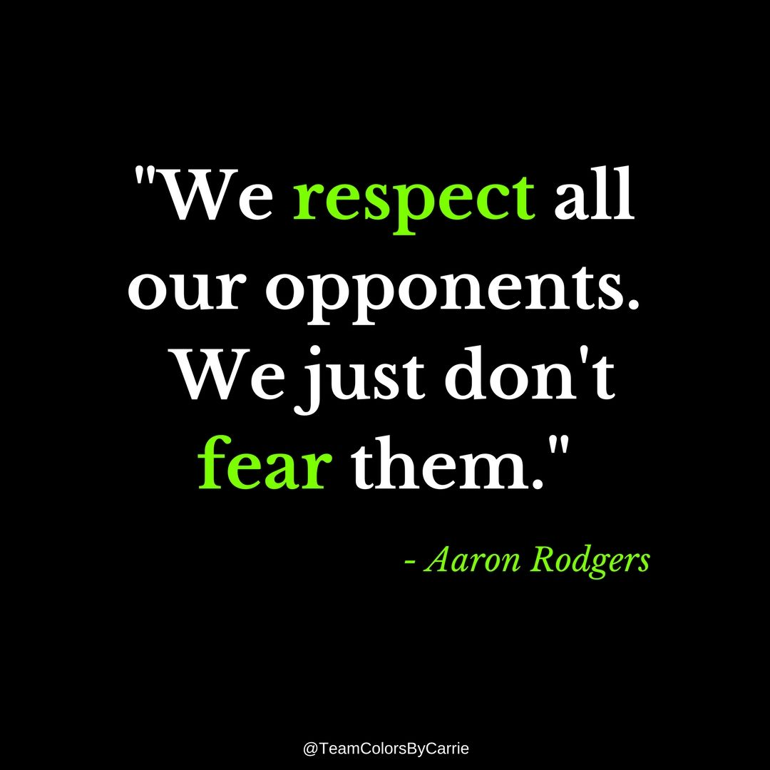 25 More Of The Greatest Football Quotes Ever Aaron Rodgers Go Packers Green Bay Packers