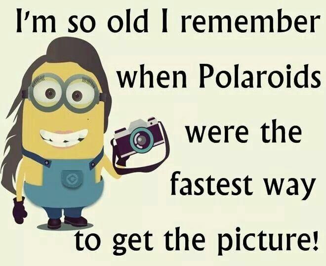 I'm so old