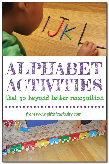 HandsOn Ideas For Building Alphabet Knowledge That Go Beyond