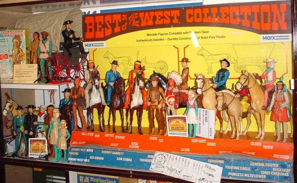 Louis Marx Large Best Of The West Store Displays 1960s & 1970s Rare!