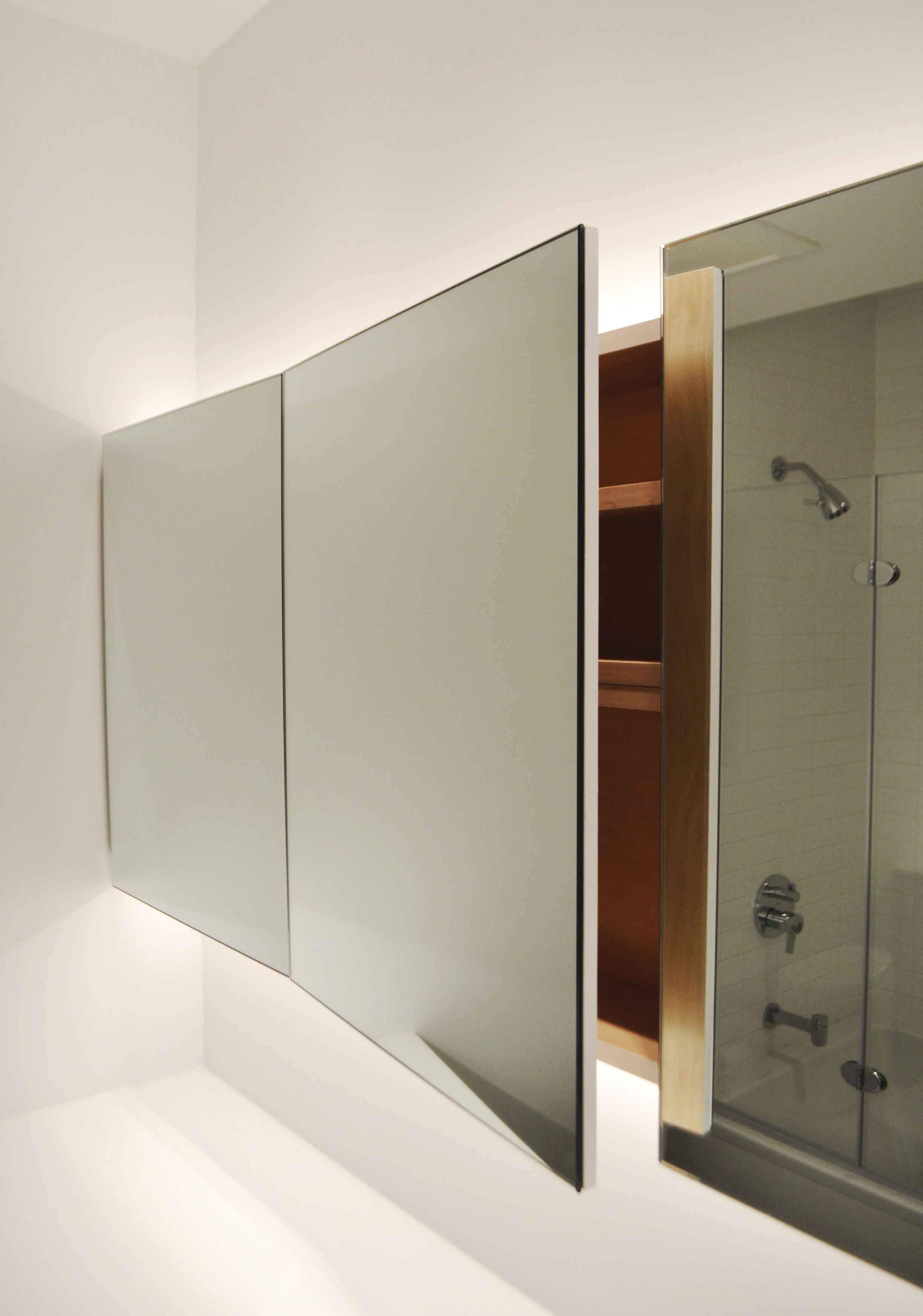 55 Robern Recessed Medicine Cabinets Apartment Kitchen Cabinet Ideas Che Full Length Mirror In Bathroom Bathroom Storage Full Length Mirror Bathroom Cabinet