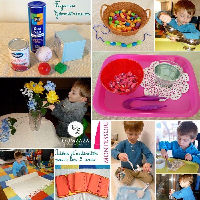 Préférence 50 activités Montessori pour les enfants de 2 ans | IEF  NH08