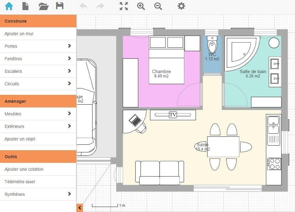 Realiser Un Plan De Maison 50m2 2 Chambres Frais 6 Ment Id