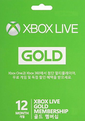 #9: Microsoft Xbox Live 12 Month Gold Card