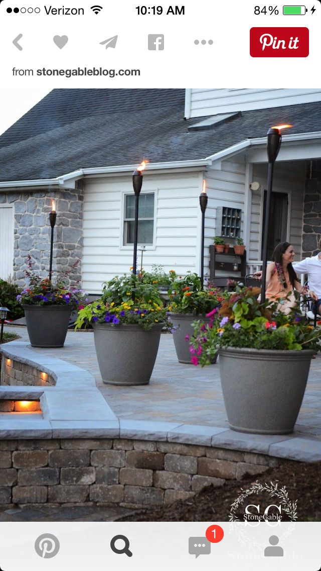 Pin by dawn musbach on Landscaping Pinterest Patios, Backyard