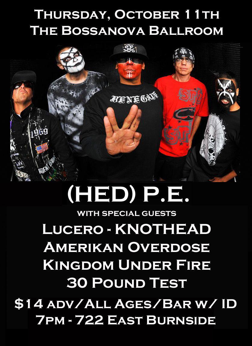 Hed PE/KNOTHEAD Portland, OR 10/11/12 Burnside