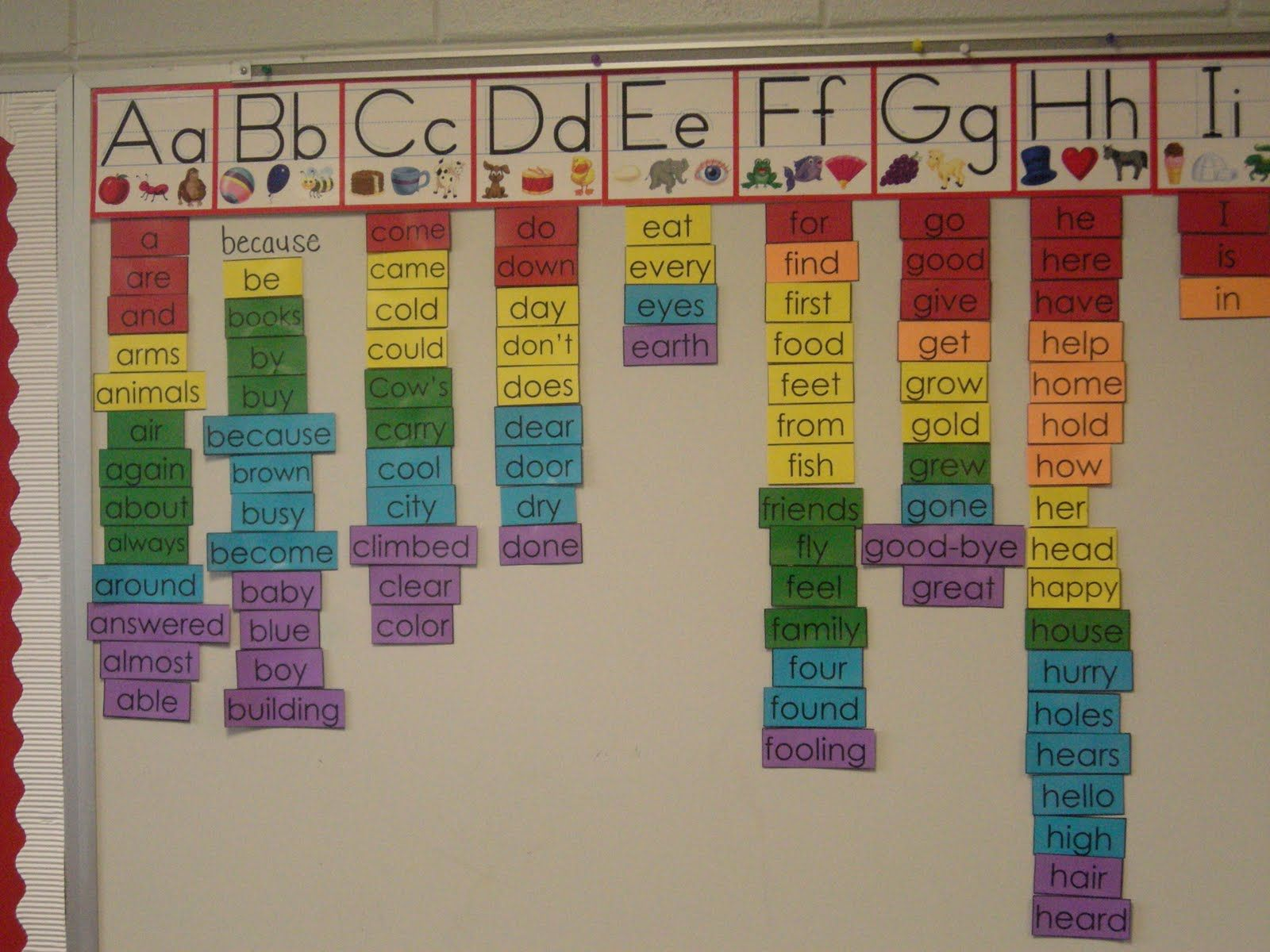what to put in a first grade classroom edit i posted on word wall id=56356