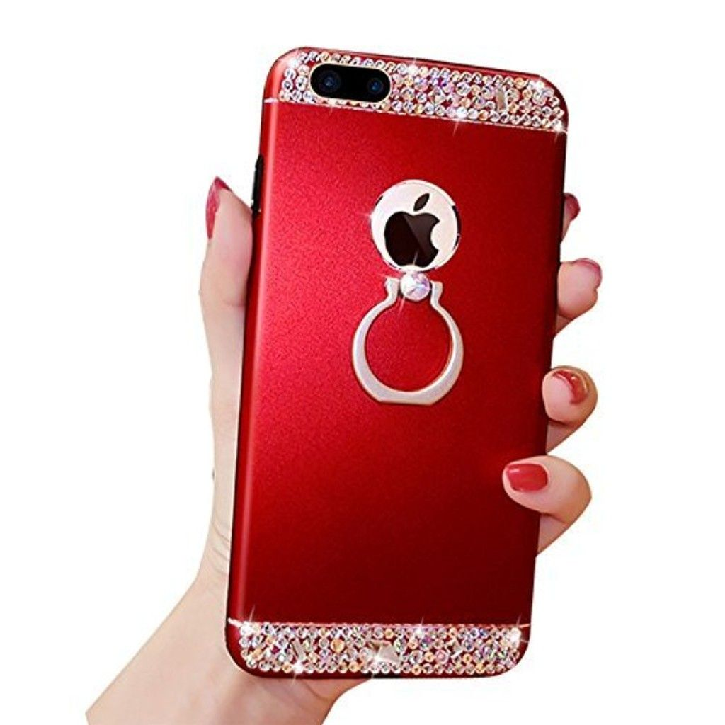 coque crystal iphone 7 plus red