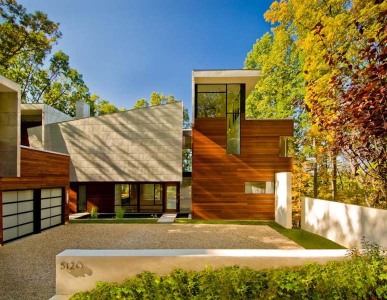 Wissioming House, Bethesda, MD  Designed By Robert M. Gurney, FAIA
