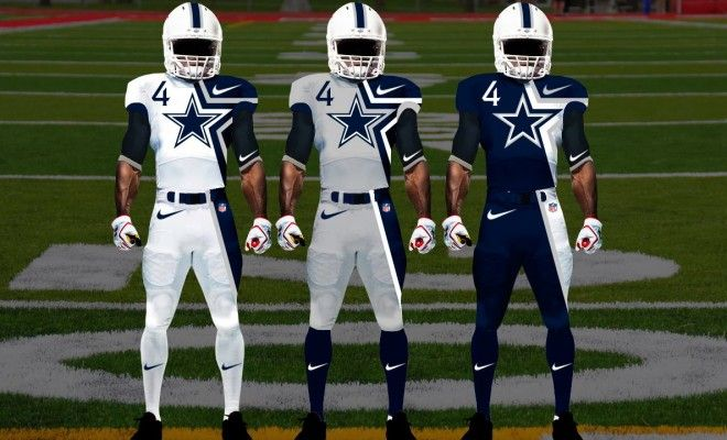 Creative Concept Designs for New NFL Jerseys  awesome  83aae69ca