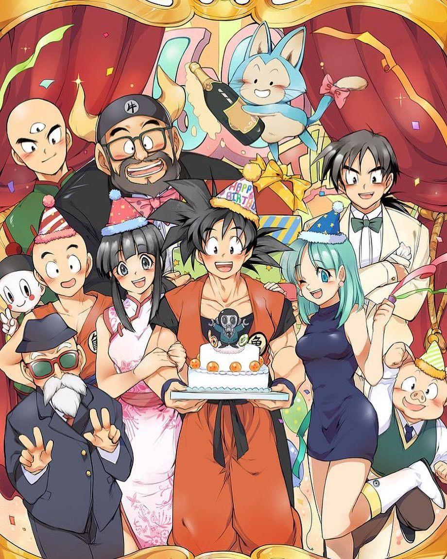 "Happy Birthday Dbz : happy, birthday, 2,062, Likes,, Comments, Dragonball, Content, Jessu💘, (@drahgonball), Instagram:, ""Happy, Birthd…, Anime, Dragon, Super,"