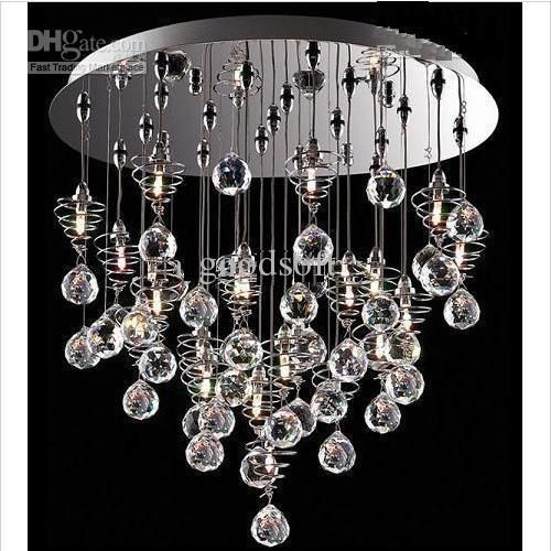 Wholesale crystal chandelier modern lamp glass ball lamp hanging wholesale crystal chandelier modern lamp glass ball lamp hanging lampdy1020 free shipping 27275 aloadofball Image collections