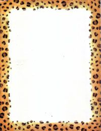 Cheetah Animal Print And Black Bottom Border With Dotted Top Description From Laulazard I Searched For This On Bing Images