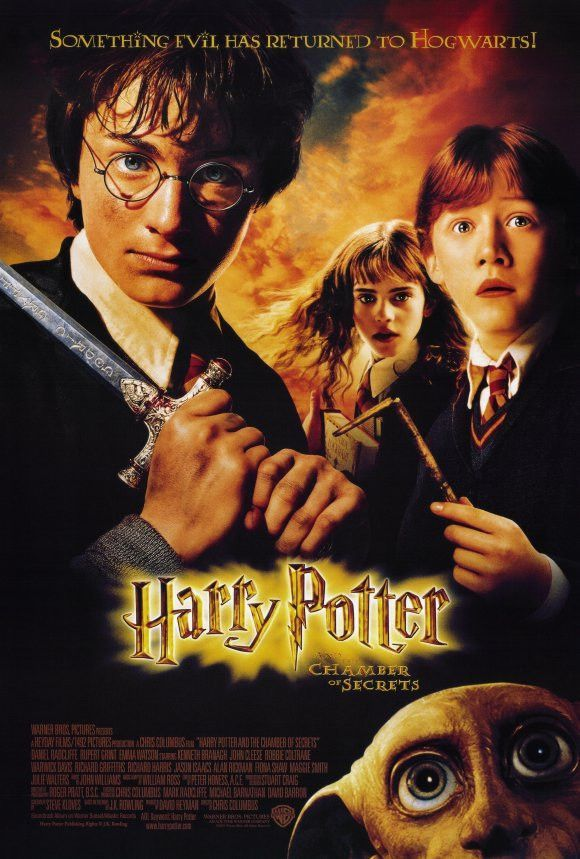 Harry Potter And The Chamber Of Secrets 11x17 Movie Poster 2002