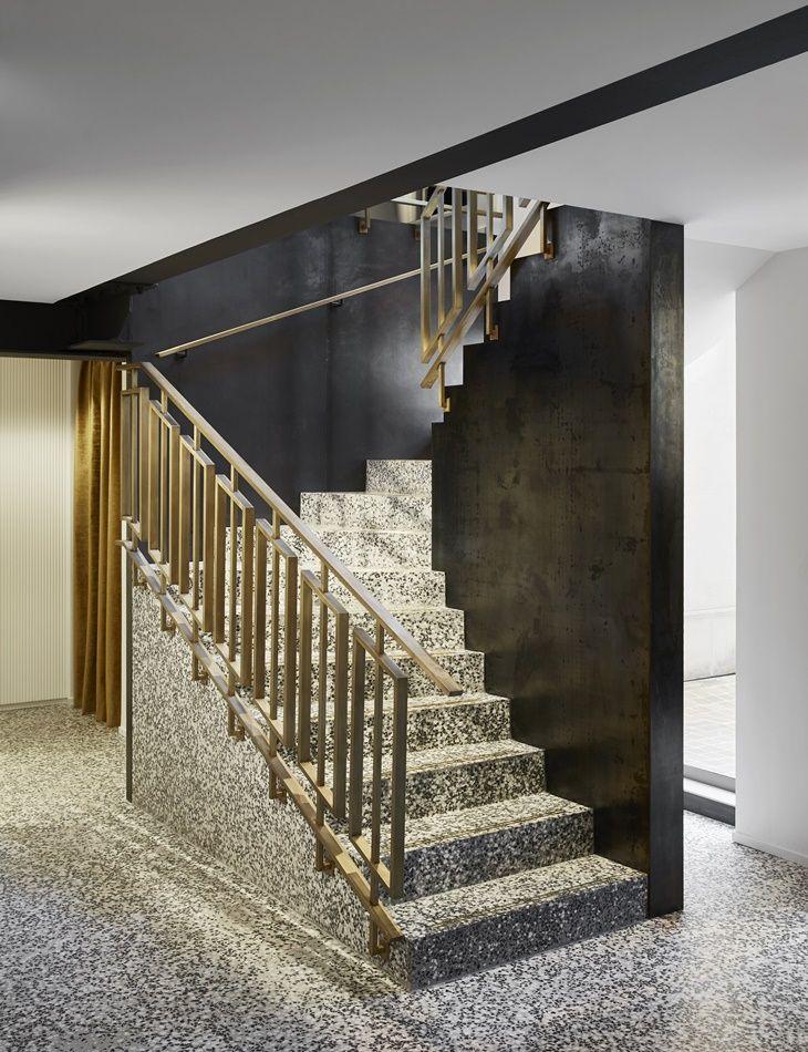 55 croisette por humbert poyet interior design pinterest rampe escalier escaliers. Black Bedroom Furniture Sets. Home Design Ideas