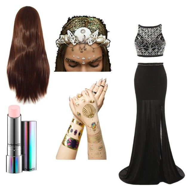 """""""princess"""" by queensland06 on Polyvore featuring Tattify and MAC Cosmetics"""