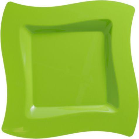 Kiwi Premium Plastic Wavy Dinner Plates 10ct - Party City & Kiwi Premium Plastic Wavy Dinner Plates 10ct - Party City | ideas ...