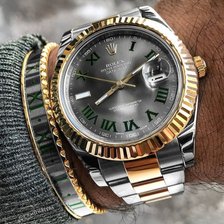 Diese Datejust und das Armband gehen Hand in Hand $ 9250 Discontinued dial Contact CRM ... - WooHoo #rolexwatches