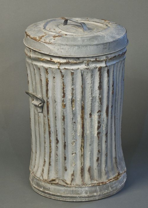 Metal Marilyn Vintage Trash Can Perfect For Storage Of Any Kind
