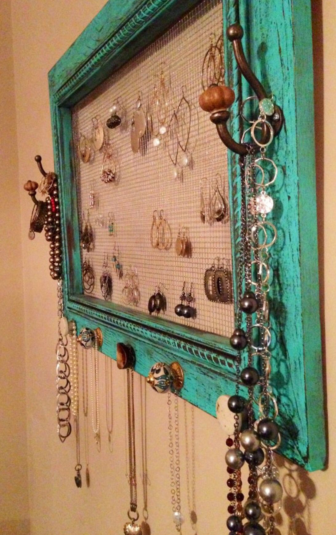 Pin by Jenni on Jewelry display ideas | Pinterest | Homemade jewelry ...
