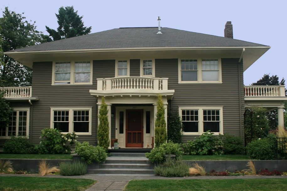Excellent eterior color schemes for ranch style homes for Exterior paint colors for homes pictures