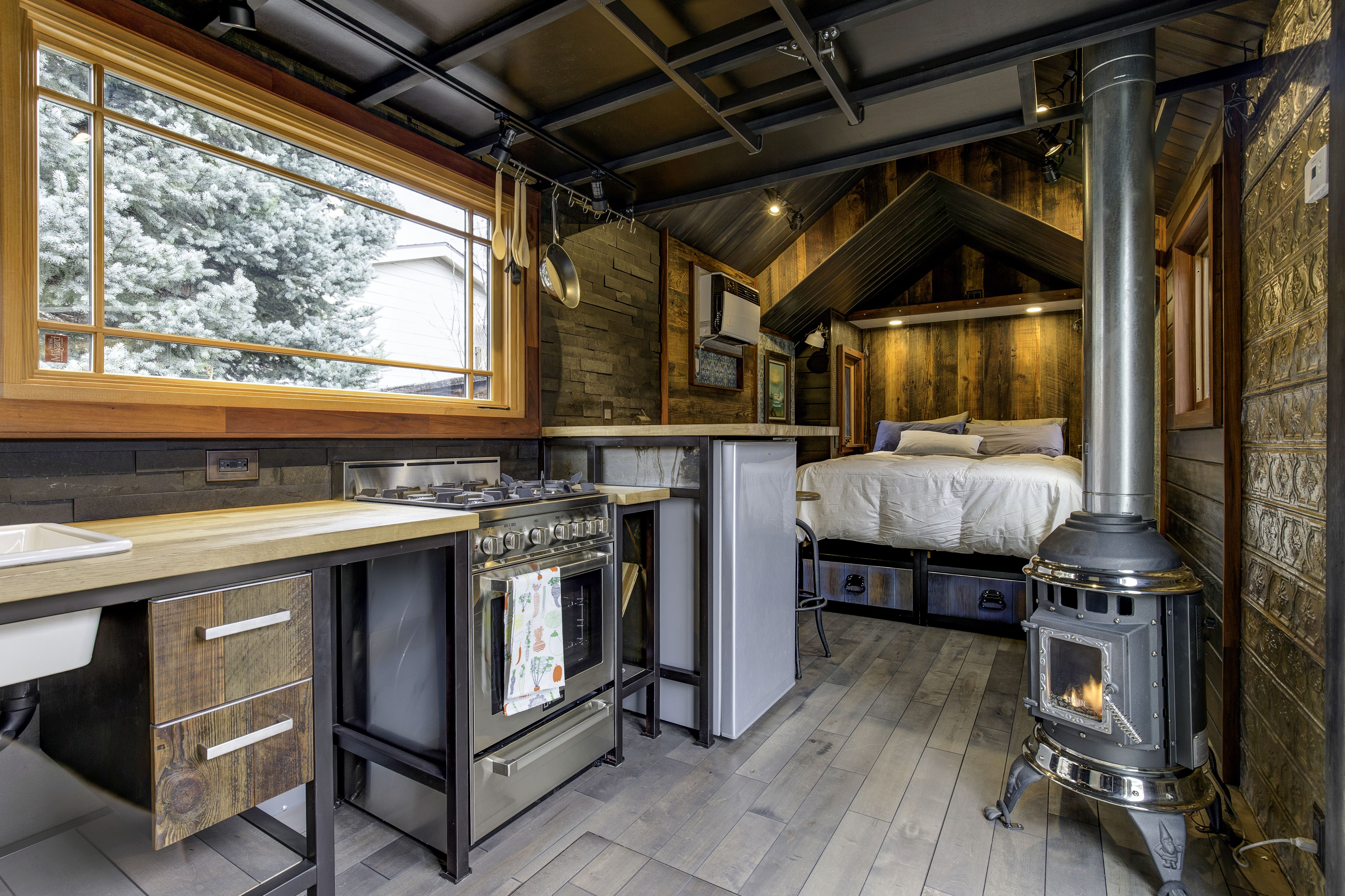 Earth and Sky Palace Luxurious Single Level Tiny House Features