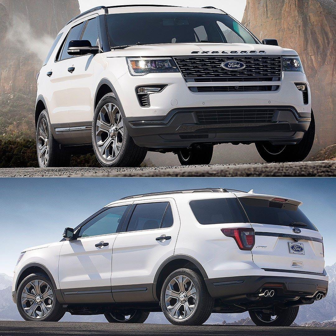 Ford Explorer Sport 2018 Setor mais aquecido da indústria