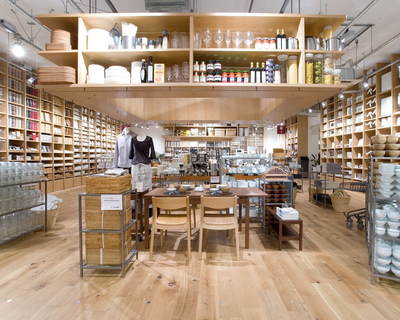 Muji finder du bla her forum des halles level 2 shop 122 paris og her - Muji forum des halles ...