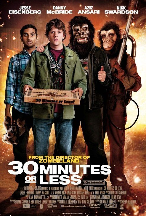 30 Minutes Or Less 2011 Nick Jesse Eisenberg Is A Small