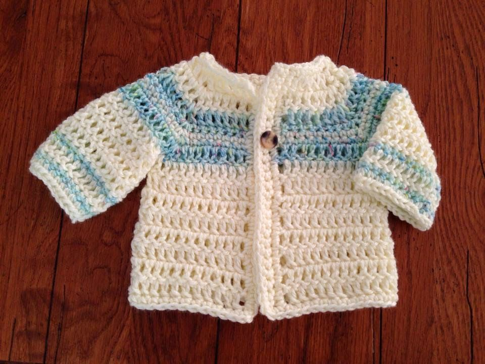 ab97e61a4 Craft Brag  Crochet Baby Boy Sweater Pattern - Free