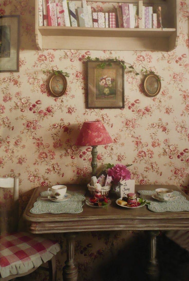 Decorating Vintage Cottage Style Interiors Interieurs Cottage