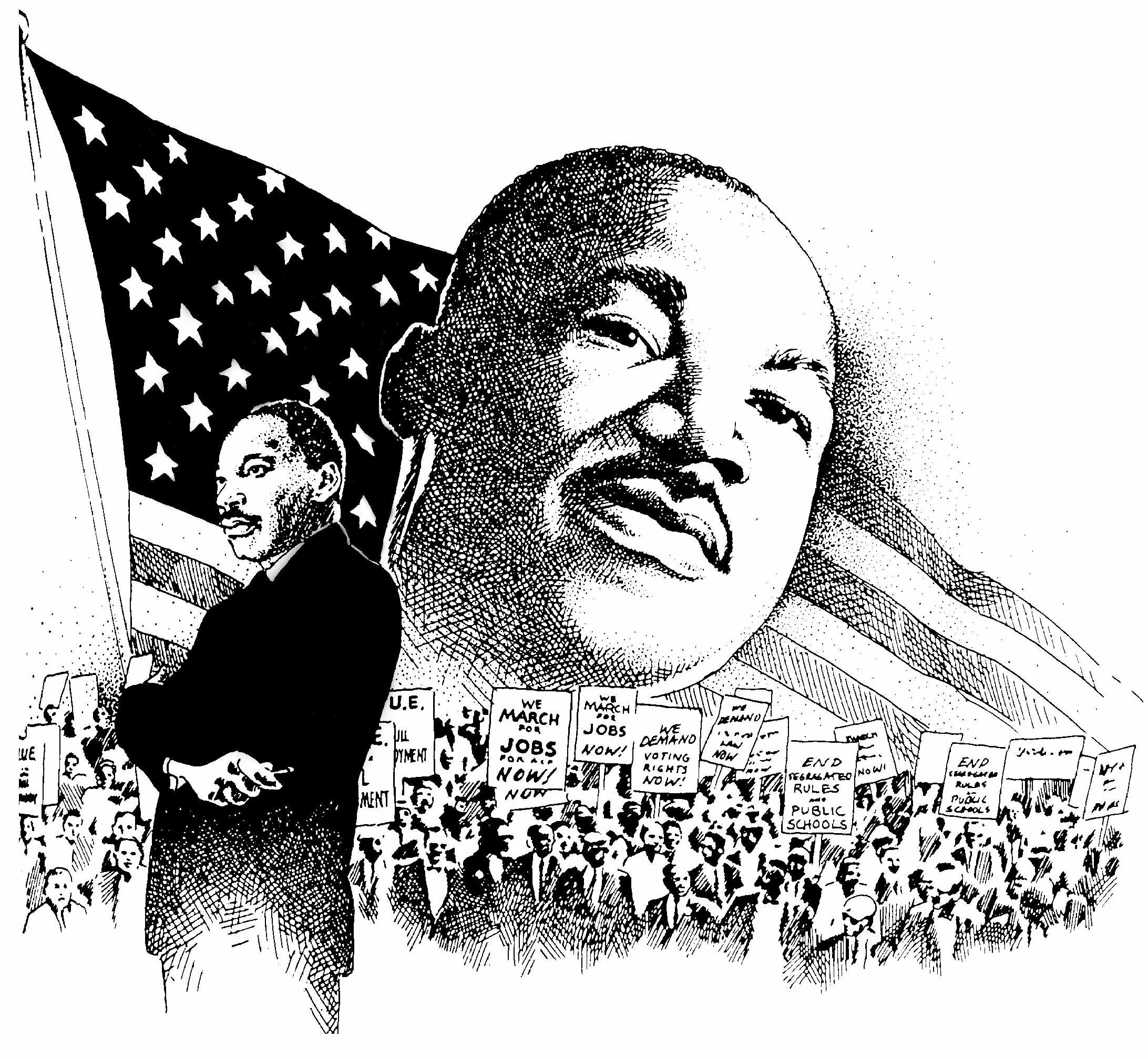 This honors Dr. King which would be great for the month of February ...