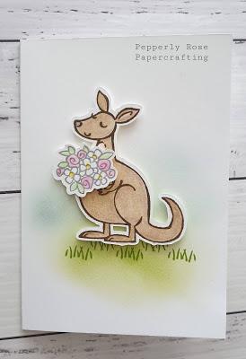 Stampin Up! Kangaroo and Company
